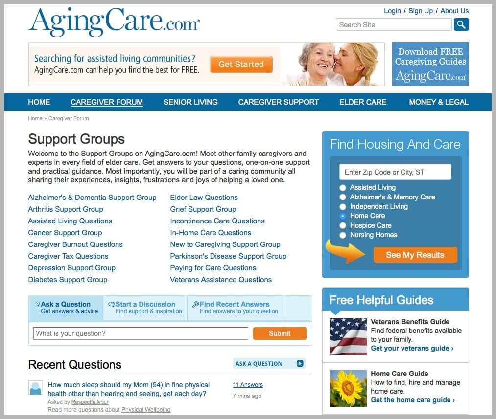 Aging Care Forum