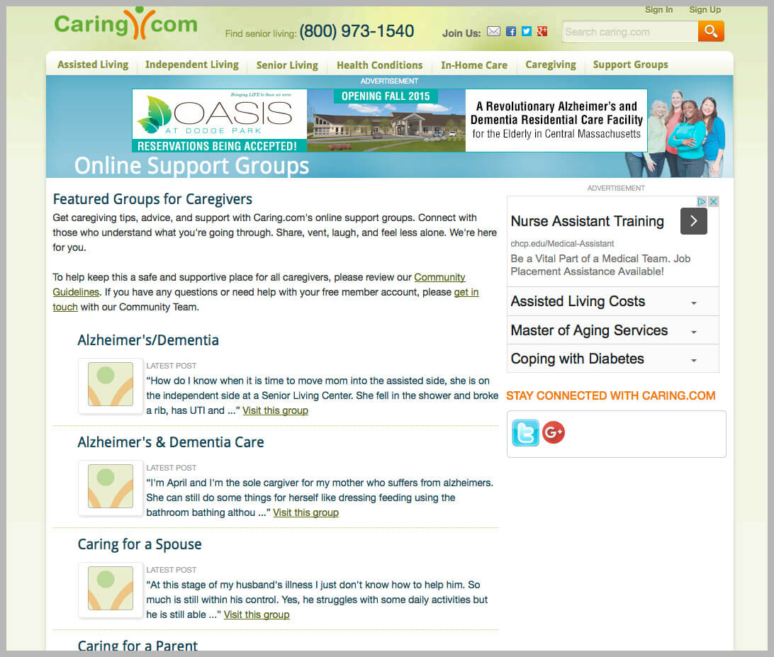 Home Care Forum