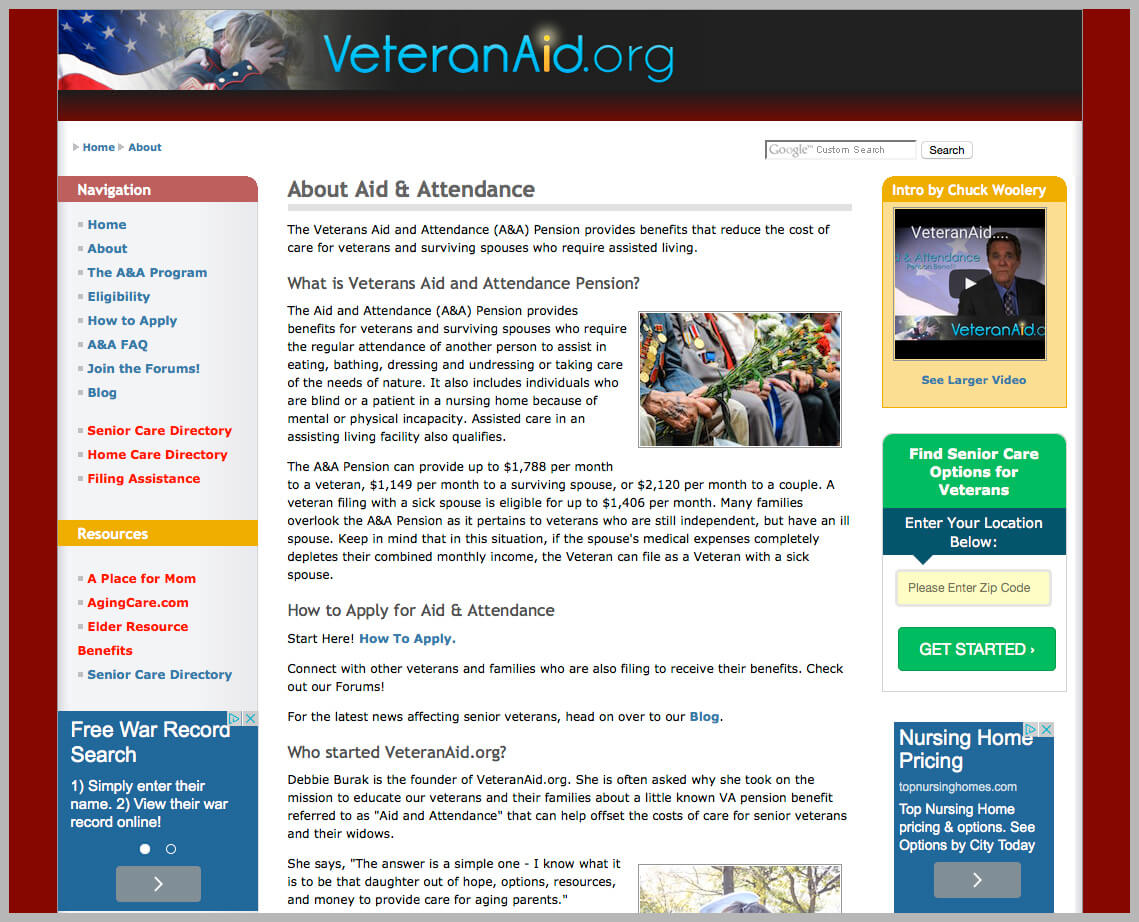 Veterans Aid Attendance Guide
