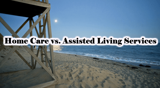 home care vs assisted living services