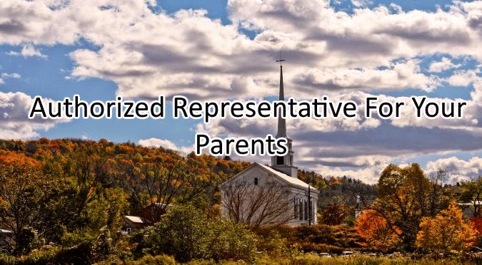 Authorized Representative