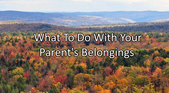 Parent's Belongings