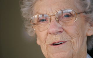 Image of a woman who receives live-in care from Minute Woman Home Care in Lexington, MA